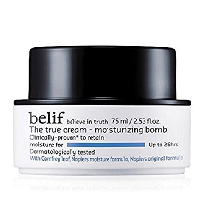 belif The True Cream Moisturizing Bomb Korean Beauty [Imported]