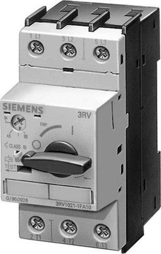 Siemens 3rv1 - Interruptor automático s0 3,2a regulación 3,2 1na+1nc