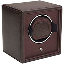 Wolf Cub Single Brown Leather Watch Winder