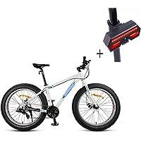 Bicicleta, Bicicleta De Montaña, 26 Pulgadas De 24 De Velocidad De Disco Doble Freno De Aleación De Aluminio De Alta Gama De Vehículos Todoterreno, ...