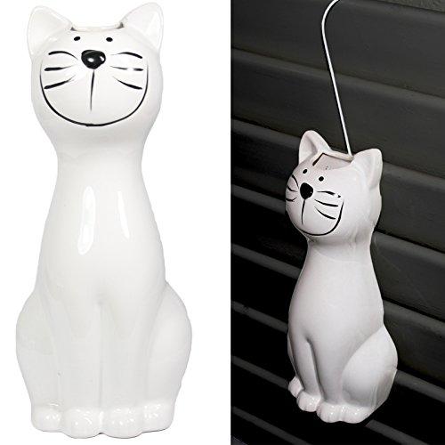 Heizung Klimaanlage (2er Set Luftbefeuchter - Katze - für Heizung aus hochwertigem Dolomit Luftreiniger Wasserverdunster Verdamper verdunster Klima in weiß)