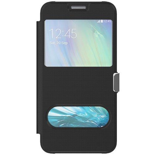 Avci base 4260445688348Custodia a portafoglio con finestra per Samsung Galaxy A7A700F bianco nero