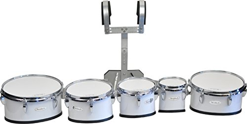 Steinbach Marching Drum Set 6? & 8? & 10? & 12? & 13? Set mit Halter