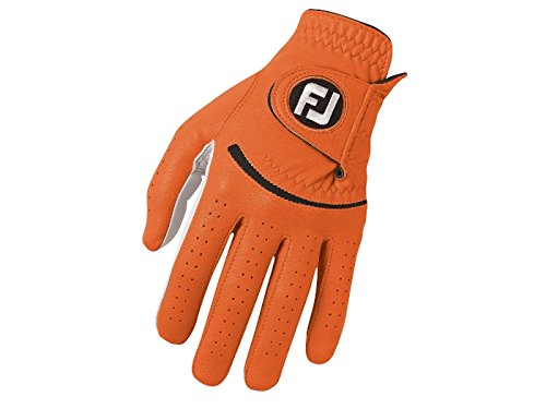 FootJoy SPECTRUM Herren Golfhandschuh LH - für Rechtshänder - Orange (L)