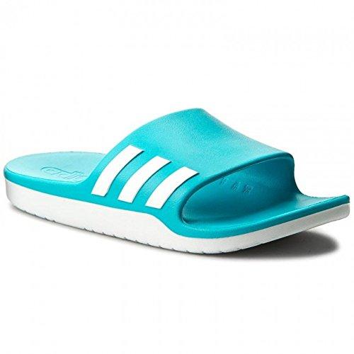 adidas Aqualette Cf, Unisex-Erwachsene Flip-Flops, Mehrfarbig(Energy Blue/Footwear White/Energy Blue), 47 EU (12 UK) (Flip 12 Blue Flop)