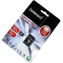 ML Tarjeta de Memoria microSDHC 4GB para Fujifilm FinePix S9800, Clase 10, Full HD;