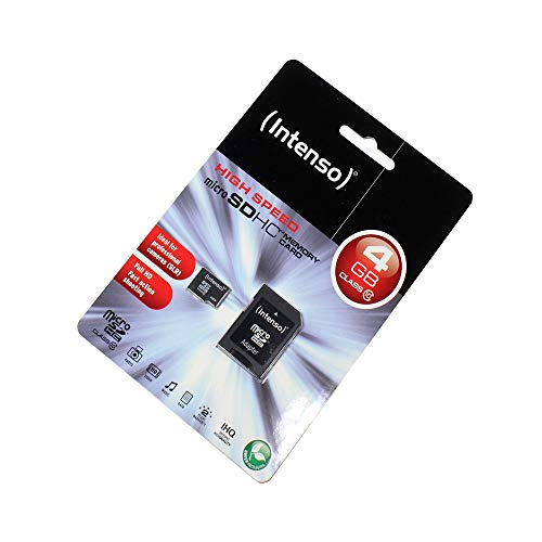 LM Scheda di Memoria MicroSDHC 4GB per Alcatel One Touch Scribe HD, Class 10