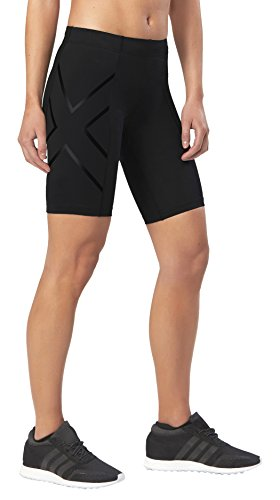 2XU Women's Core Compression Shorts (Black/Nero, Small) (Short Compression Core)