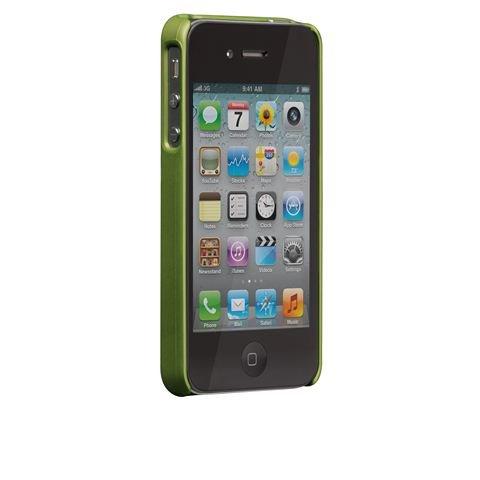 Barely There Case für iPhone 4, Kunststoff, Transparent Grün