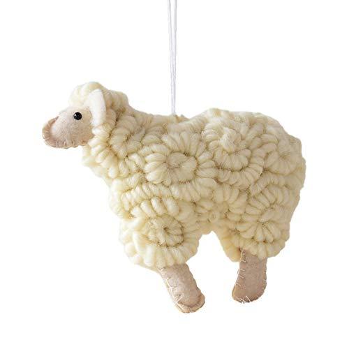 MAYOGO Weihnachten Filz Material Ziege Dekoration Anhänger Indoor -