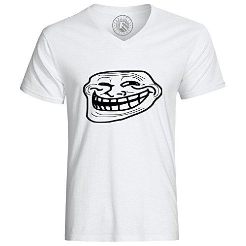 T-Shirt Troll Face Ugly Fun Meme