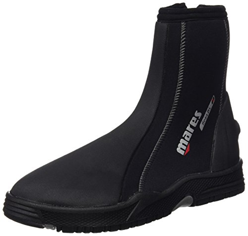 Mares Erwachsene Füßling Dive Boots Flexa DS 5 mm, Black/Grey, 7, 412626070