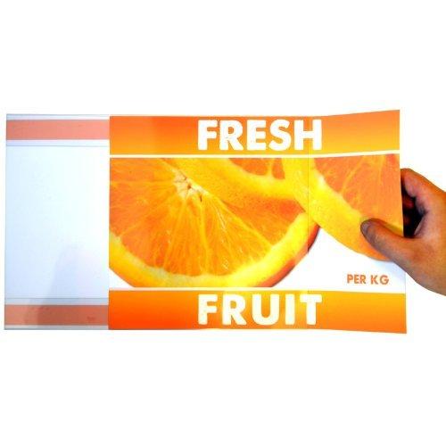 Displaypro 10x A4paisaje PVC adhesivo pared carteles–envío gratuito.