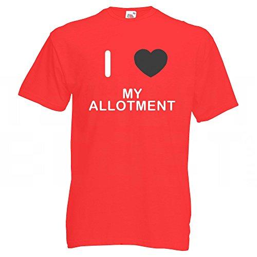 I Love My Allotment - T-Shirt Rot