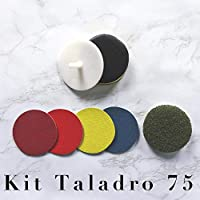 "KIT TALADRO 75mm/3"" PULIDO Y ABRILLANTADO"