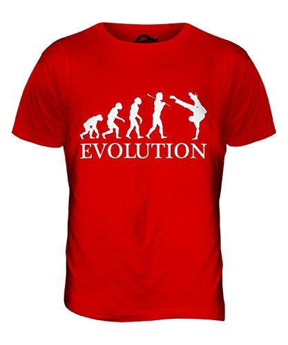 CandyMix Street Dance Evolution Des Menschen Herren T Shirt Rot