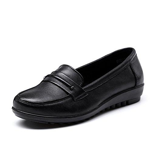 Chaussures plates avec ma mère/Chaussures de fond mou pour les personnes âgées/Chaussures printemps/Old shoe A