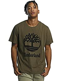 Timberland Homme Hauts/T-Shirt Linear Basic Stacked
