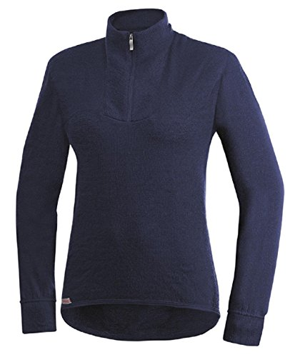 Woolpower Zip Turtleneck 200 Dunkelblau