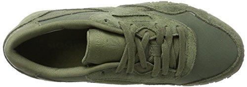 Reebok Cl Nylon, Zapatos De Gimnasia Para Mujer Verde (hunter Green / Hunter Green)