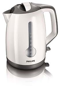 Philips HD4649/00 - Bollitore a risparmio energetico, colore bianco / grigio