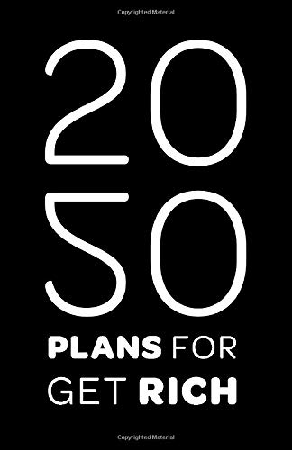 plans for 2020 get rich: Blank Lined Notebook / Journal (Paperback, Weekly Planner ) - Inspirational 2020 New Year's