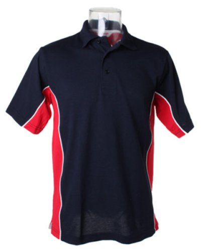 Gamegear Track Pique Polo Mehrfarbig - Navy/Red/White