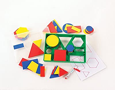 2D SHAPE ACTIVITY - CLASS / NURSERY SET - Circles, Triangles, Squares, Rectangles, Hexagons by CD