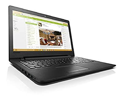 Lenovo IdeaPad 110-15IBR 80T700CJIH 15.6-inch Laptop (Pentium N3710/4GB/500GB/Windows 10/Integrated Graphics), Black Texture