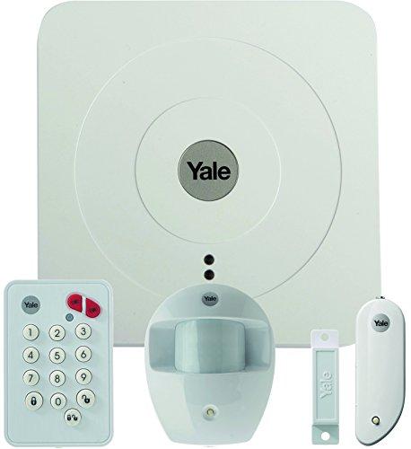 Yale sr-a100-3pet Mural Blanc-Capteur de Mouvement (12m, 27kg, Batterie, AAA, 1,5V, -10-40°c)