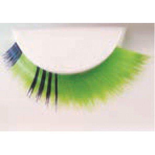 Eye Lash set Fun Black & Green (Black Green Lantern Kostüme)