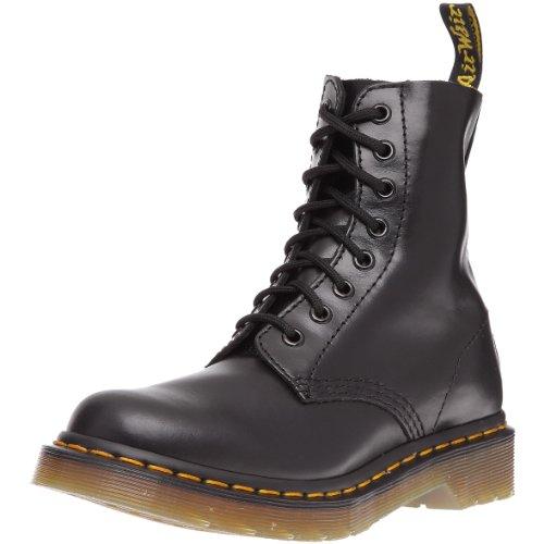 Dr. Martens PASCAL Buttero BLACK, Damen Combat Boots, Schwarz (Black), 42 EU (8 Damen UK)