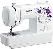 BROTHER Electric Powered Sewing Machine, White, Ja 1400, JA1400-3PIN
