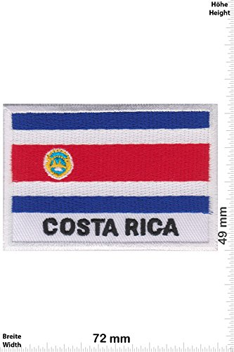 Parches - Costa Rica - Flag -Países - Parche