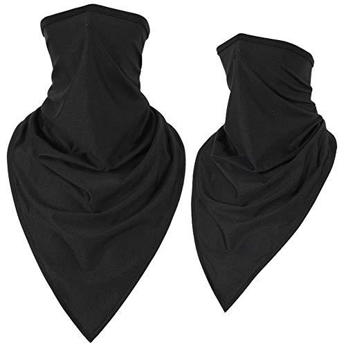 HUOYAN Winddicht Moto Maske Motorrad Halbgesichtsdruck Maske Hals Dreieck Schal Outdoor Atmungsaktiv Gesichtsschutz Maske (Color : 405QH, Size : Quick Dry Style) -