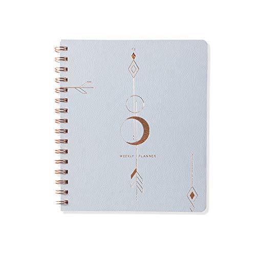 TN Moon Arrow 878002 Wochenkalender mit Fransen, nicht datiert, 160 Seiten, 17,8 x 21,6 cm -