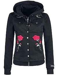 9e71d254b6c81 Vixxsin Roosa Rose Jacket Girls Jacket Black