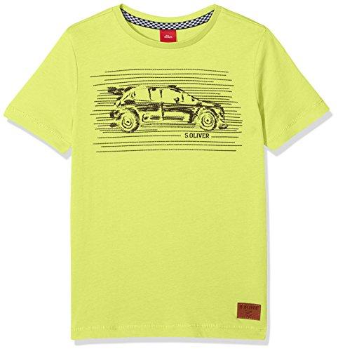 s.Oliver Jungen T-Shirt 63.807.32.5411, Grün (Green 7042), 116