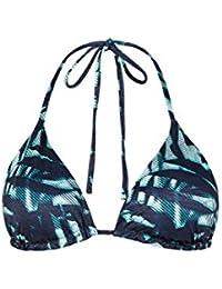 Accessorize Soutien-gorge de bikini forme triangle en zig-zag réversible - Femme