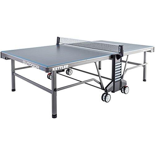 Kettler Outdoor 10 - Outdoor Tischtennisplatte - 07178-900 - grau/blau