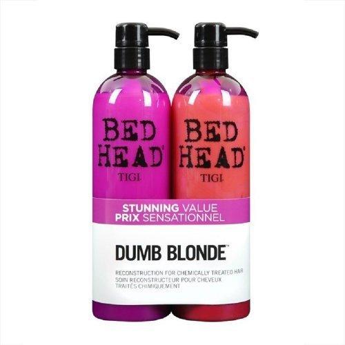 New Release 2013 - Tigi Bed Head Dumb Blonde Shampoo & Conditioner Reconstructor Tween Liters 25.36 Oz Each by tigi -