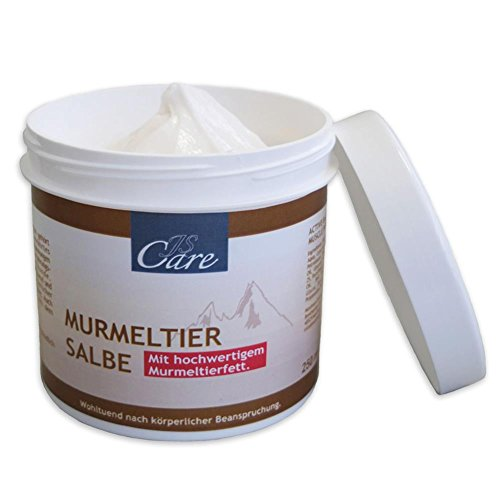 HC Handel 936129 Murmeltier-Salbe 'JS Care' im 250 ml Tiegel