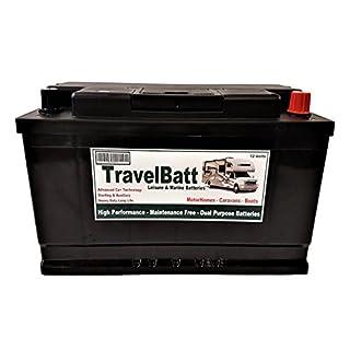 TravelBatt Deep Cycle Leisure Battery TB25MF- 12V 110AH 110 AH - Motorhome Caravan Campervan Boat