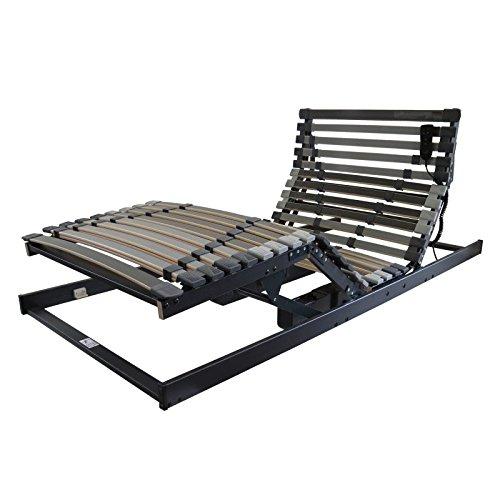 Perbix XXXL Lattenrost bis 250 kg - Rahmen mit Motor, 90x200 cm