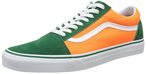 vans-old-skool-sneakers-basses-mixte-adulte-multicolore-brite-verdant-green-neon-orange-42-eu