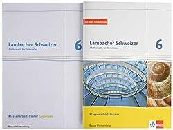 Lambacher Schweizer Mathematik 6. Ausgabe Baden-Württemberg: Klassenarbeitstrainer. Schülerheft mit Lösungen Klasse 6 (Lambacher Schweizer. Ausgabe für Baden-Württemberg ab 2014)