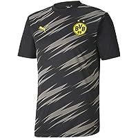 PUMA BVB Stadium Jersey Camiseta, Hombre, Black/Asphalt/Home, XXL