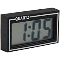 Mini Carro de Coche LCD Tableros de Instrumentos Auto Reloj Digital Calendario de Escritorio Fecha Y