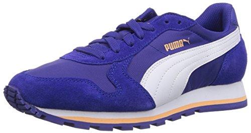 Puma ST Runner NL, Unisex-Erwachsene Sneakers, Blau (clematis blue-white-Peach Cobler 11), 39 EU (6 Erwachsene - Für 2015 Schuhe Herren Puma