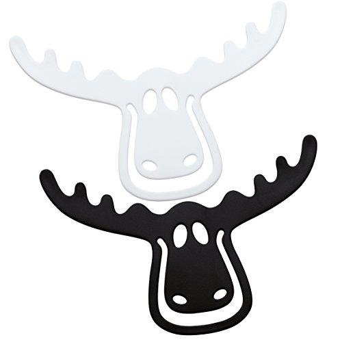 """Koziol segnalibro""""Rudolf-nero/bianco"""